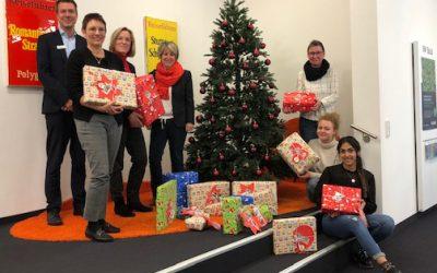 Ein Weihnachtsgeschenk für jedes Kind, das Weihnachten im Pforzheimer Frauenhaus verbringen wird.